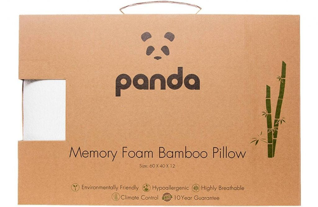 panda pillow box